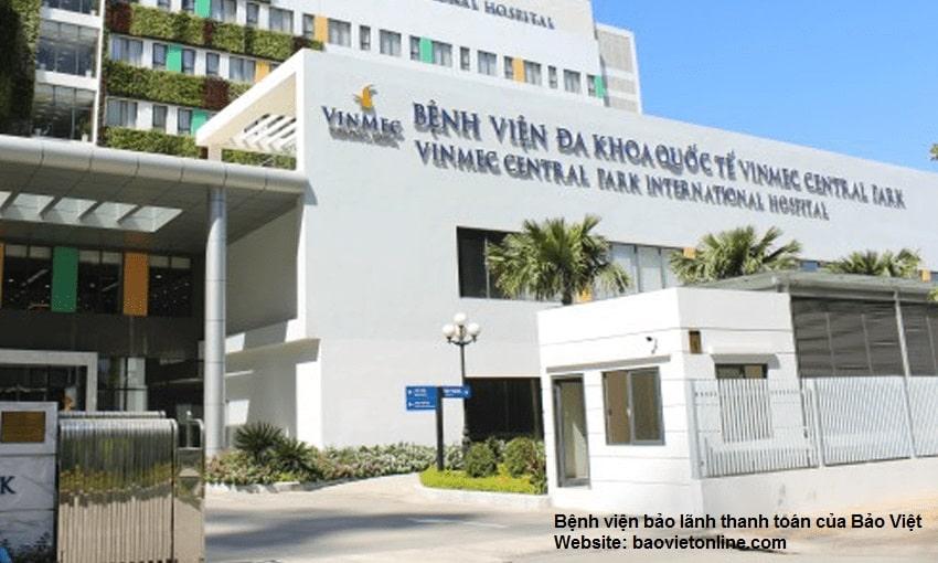 bệnh viện bảo lãnh thanh toán của bảo việt