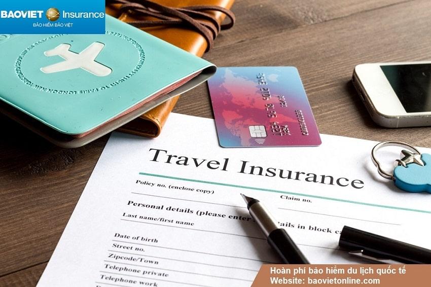 hoàn phí bảo hiểm du lịch quốc tế