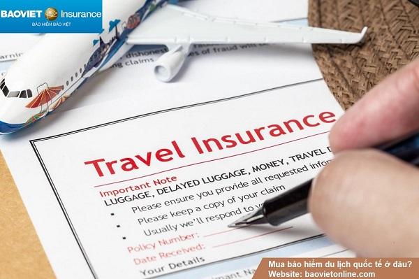 Bảo hiểm du lịch quốc tế sẽ hỗ trợ rất nhiều trong suốt chuyến đi