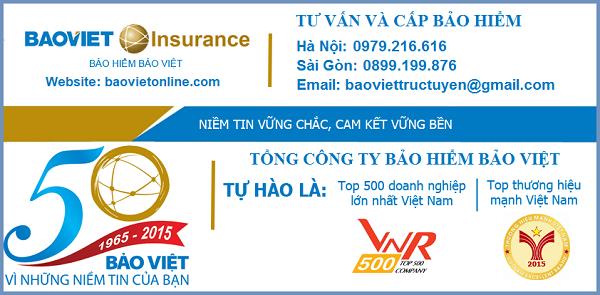 Mức phí bảo hiểm tai nạn 24/24 của Bảo Việt hợp túi tiền của mọi nhà