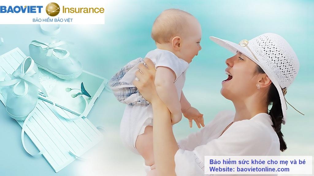 bảo hiểm sức khỏe cho mẹ và bé