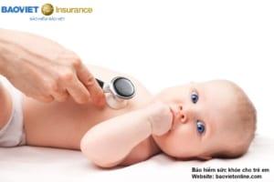 bảo hiểm sức khỏe cho trẻ em