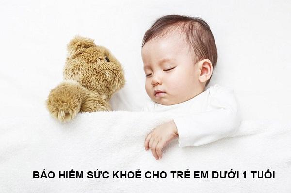 Bảo hiểm sức khoẻ cho trẻ dưới 1 tuổi