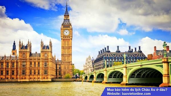 mua bảo hiểm du lịch Châu Âu