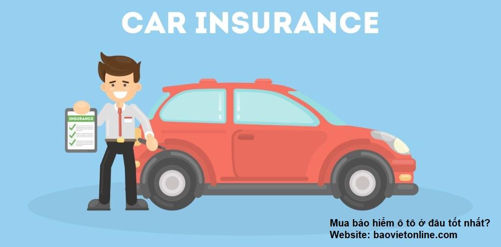 Mua bảo hiểm ô tô ở đâu