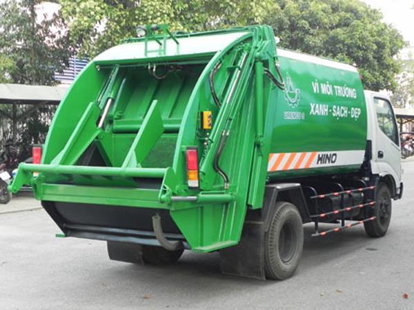 Xe Chuyên chở rác
