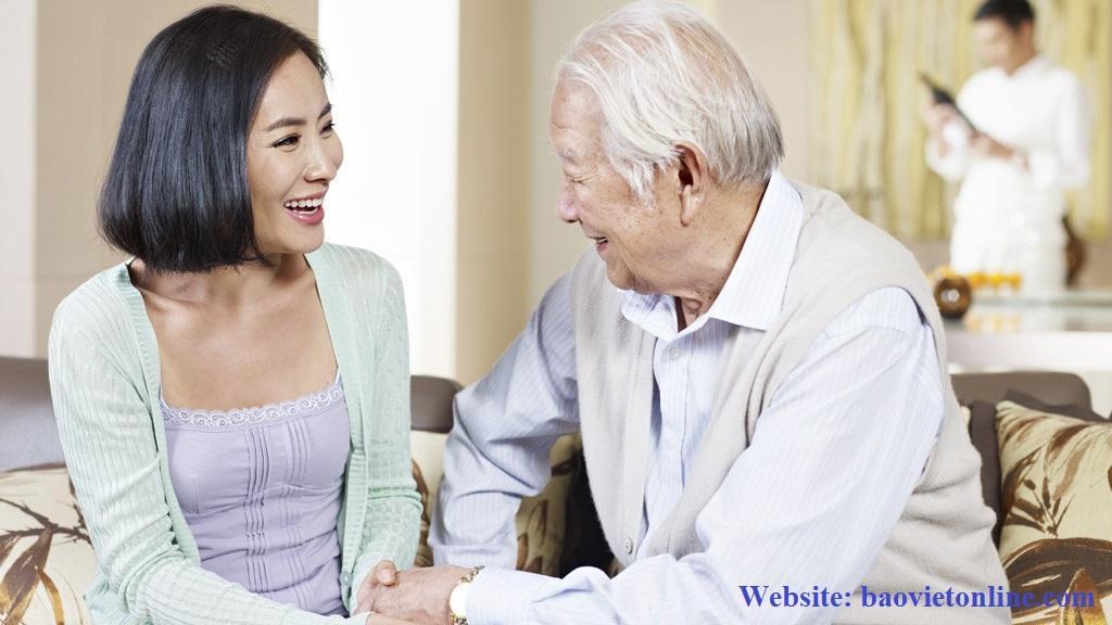 bảo hiểm giải quyết những rủi ro cho người già