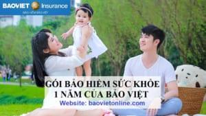 gói bảo hiểm sức khỏe 1 năm của Bảo Việt