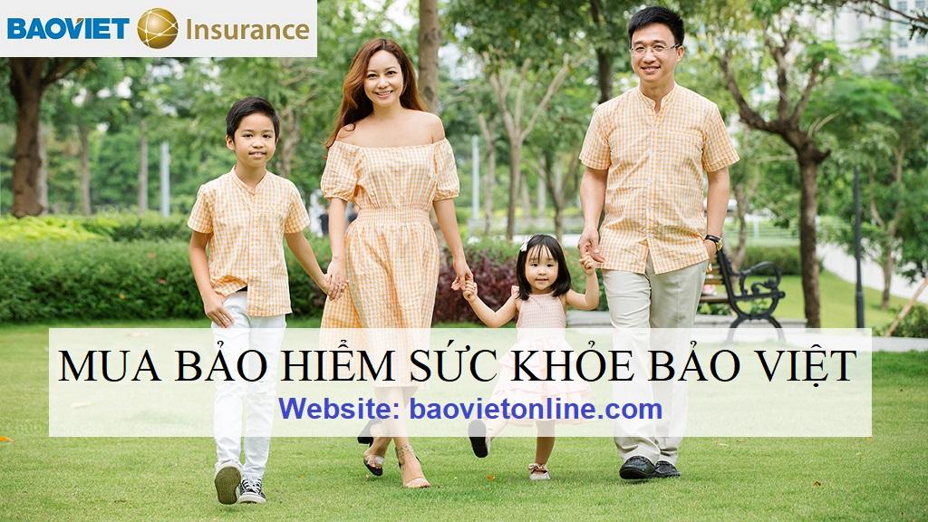 mua bảo hiểm sức khỏe bảo việt