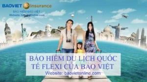 bảo hiểm du lịch flexi bảo việt