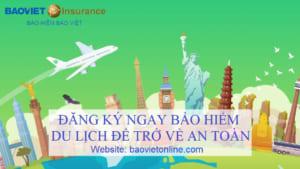 đăng ký bảo hiểm du lịch của bảo việt