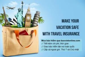 lợi ích của bảo hiểm du lịch