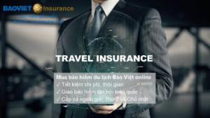 mua bảo hiểm du lịch của Bảo Việt online