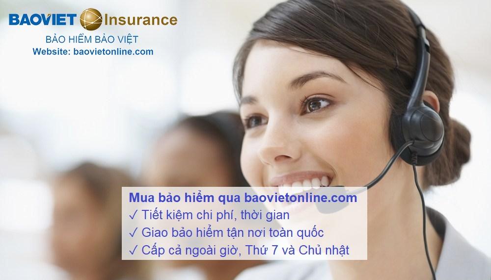 mua bảo hiểm qua baovietline.com